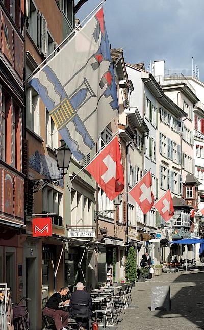 Augustinergasse in Zurich, Switzerland. CC:Rolandzh