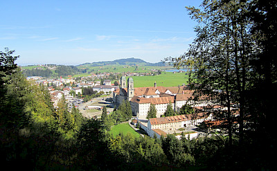 Pilgrimage hotspot of Einsiedeln, Switzerland. Photo via Flickr:Eric Titcombe