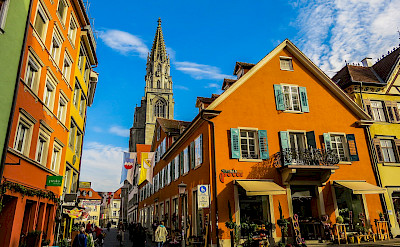 Sightseeing in Konstanz on the Bodensee in Germany. Flickr:Kiefer