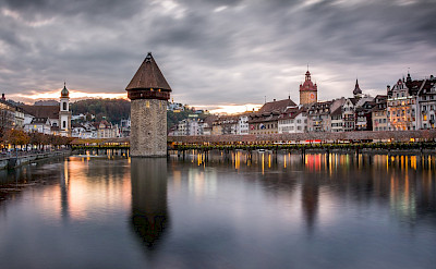 Beautiful Lucerne in Switzerland. Photo via Flickr:kuhnmi