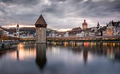 Beautiful Lucerne in Switzerland. Flickr:kuhnmi