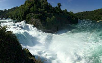 Rheinfall near Schaffhausen, Switzerland. Flickr:Mondo79