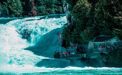 Rheinfall near Schaffhausen, Switzerland. Flickr:Michel Simeonidis