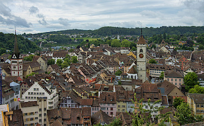 Bike rest in Schaffhausen, Switzerland. Photo via Wikimedia Commons:chensiyuan