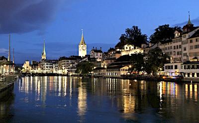 Old Town of Zurich, Switzerland. Flickr:Mark Gunn