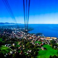 Cable car in Bregenz, Lake Constance, Austria. Flickr:Kiefer