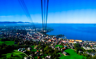 Cable car in Bregenz, Lake Constance, Austria. Flickr:Kiefer