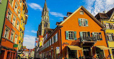 The town of Constance on Lake Constance in Germany, south of Switzerland. Photo via Flickr:Kiefer