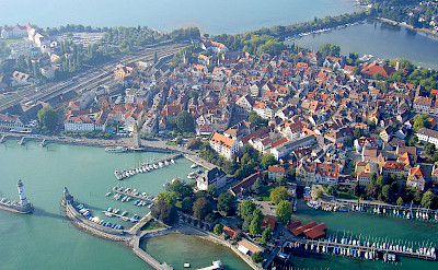 Lindau Island on Lake Constance, Germany. Flickr:Blendeauf