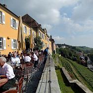 Wonderful dining on Lake Constance. Flickr:Michael Coghlan