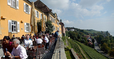 Wonderful dining on Lake Constance. Photo via Flickr:Michael Coghlan