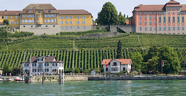 Lovely homes along Lake Constance, aka Bodensee. Photo via Flickr:Patrick Nouhailler