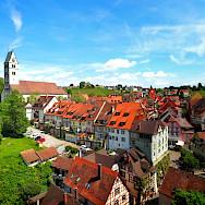 """Meersburg is the """"Castle on the Sea"""" in Germany. Flickr:Stefan Jurca"""