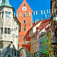 Meersburg is a medieval town in Baden-Württemberg, Germany. Flickr:F Delventhal
