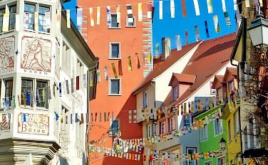 Meersburg is a medieval town in Baden-Württemberg, Germany. Photo via Flickr:FDelventhal