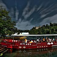Boat ride Rheinfall near Schaffhausen, Switzerland. Flickr:Stephanie Kroos