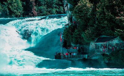 Rheinfall near Schaffhausen, Switzerland. Flickr:michel simeonidis