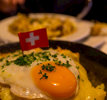 Rosti, a traditional Swiss dish. Photo via Flickr:t-mizo