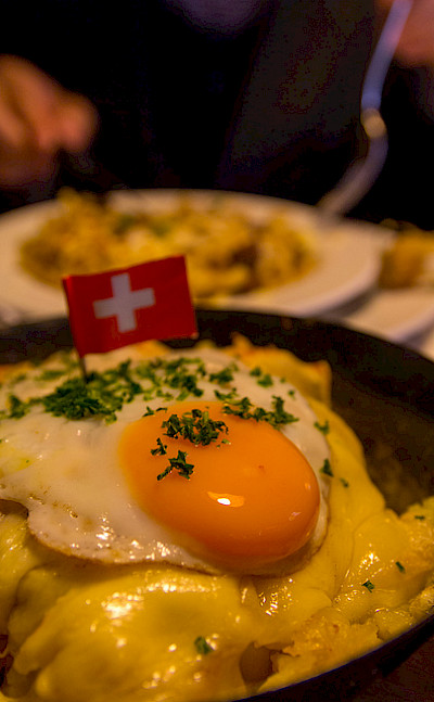 Rosti, a traditional Swiss dish. Flickr:t-mizo