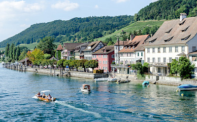 Boating on Stein am Rhein on Lake Constance, Switzerland. Flickr:Luca Casartelli