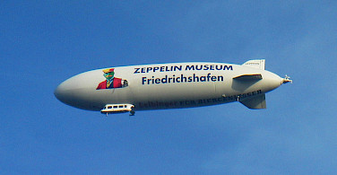 Birthplace of the Zeppelin, Friedrichshafen, Germany. Photo via Flickr:Waithamai