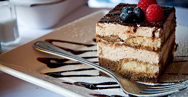 Tiramisu originated in Treviso. Photo via Flickr:Alexis Fam Photography