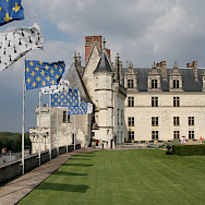 Château d'Amboise along the Loire River in France. Creative Commons:Vadim Kurland