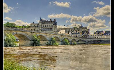 Château d'Amboise along the Loire River, France. Flickr:@lain G