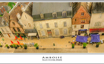 Place Michel Debre in Amboise, France. Flickr:@lain G