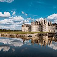 Château de Chambord in Chambord, France. Creative Commons:Arnaud Scherer