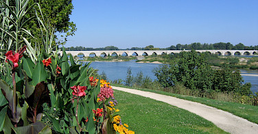 Bridge in Beaugency, France. Photo courtesy Tour Operator.