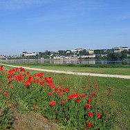 Bike path along the Loire River in Blois. Photo courtesy TO