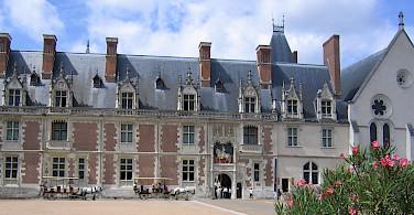 Chateau de Blois, Blois, Loire Valley, France. Photo courtesy Tour Operator.