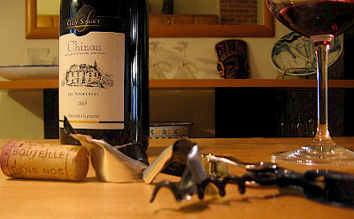 Wines to try in Chinon, France. Creative Commons:Vinotrip