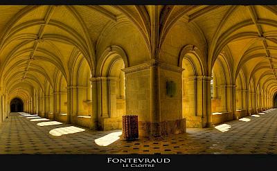 Le Cloitre at Fontevraud, France. Flickr:@lain G