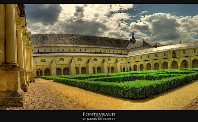 Le Jardin at Abbaye de Fontevraud, France. Flickr:@lain G