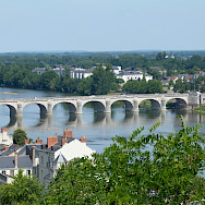 Bridge in Saumur, France. Photo courtesy TO
