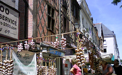 Market in Tours of the Indre-et-Loire department in France. Photo courtesy TO
