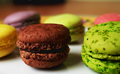 Macarons are a French favorite. Flickr:Marck Jerland