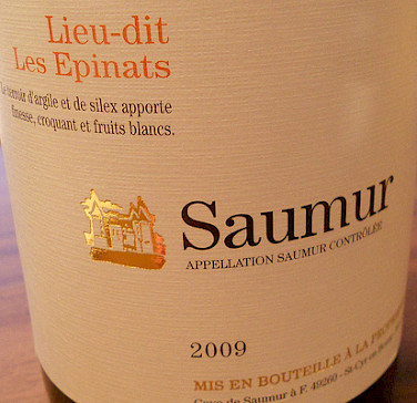 Saumur wine! Photo via Flickr:jamesonf