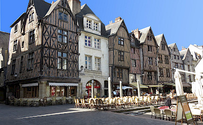 Half-timbered architecture in Tours, France. Creative Commons:Gerard Jalaudin