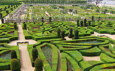 Gardens at Villandry Château. Flickr:Joe Shlabotnik