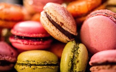 Macaroons are a French favorite! Flickr:Thierry Leclerc