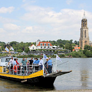 Ferry crossing in Rhenen, Utrecht, the Netherlands. Photo by Martin Wigtman