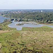 Town of Rhenen along the Rhine in Utrecht, the Netherlands. Wikipedia Commons:Joop van Houdt