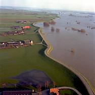 Farmland around the Rhine River in Holland. Photo by Martin Wigtman