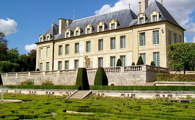 Built 17th-18th century, Château de Leyrit in Auvers-sur-Oise, France. CC:P.poschadel