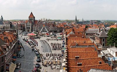 La Grand Place de Tournai, Belgium. CC:Stephane Martin