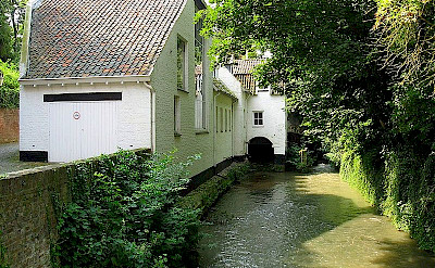 Jeker River runs through Maastricht, the Netherlands. Flickr:Sundowners