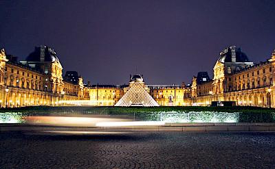 Pyramide du Louvre in Paris, France. Flickr:Dimitry B.